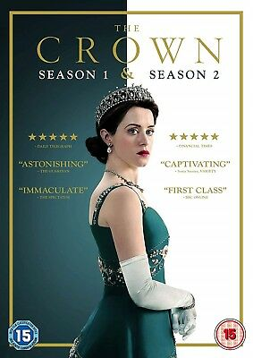 The Crown Season 1-2 Claire Foy, Matt Smith New Sealed Region 2 DVD FREE UK POST