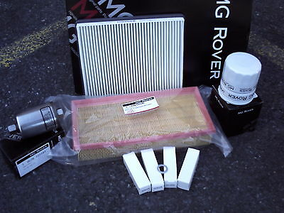 Mgtf Service Kit + Fuel And Pollen Filter New And Genuine