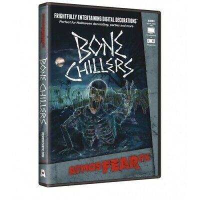 AtmosFEARfx Bone Chillers Digital Decorations DVD New Sealed