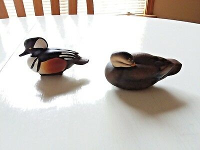 2 Jett Brunet Ducks Unlimited Collectible Figurines 2001, 2009