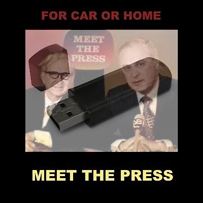 Meet The Press. 133 Old-Time Radio Shows 1945-1962. Enjoy In Your Car Or Home.