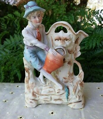 French or German Bisque Porcelain Figure