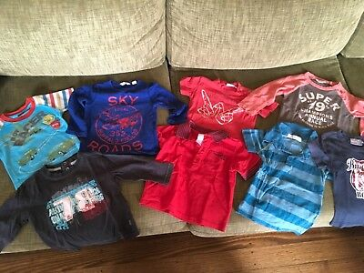 Asst Baby Boys Tshirts Size 1 Country Road, Peter rabbit, mambo etc.