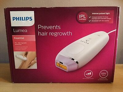 Philips Lumea Essential IPL Hair Removal Device Regrowth Prevention BRI863/00