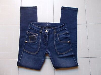 MISS BLUMARINE JEANS ( made in Italy ) Ragazza Girl's jeans Tg / SIZE 12