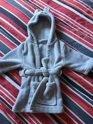 Baby Boys Dressing Gown Age 0-6 Month