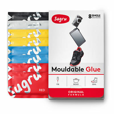 Sugru Mouldable Glue - Original Formula - Primary Colours (8-pack)