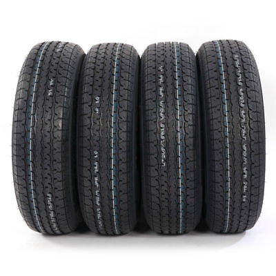 4 New ST 205/75R15 Oshion Radial Trailer Tires 8 Ply 107/102 L Load Range D