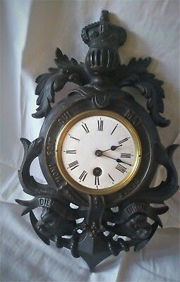 Very Unusual French Wall Clock