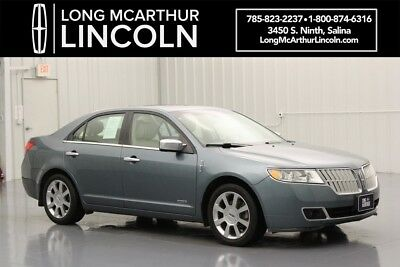 2011 Lincoln MKZ/Zephyr HYBRID FWD 2.5 HEV 4 CYLINDER CVT AUTOMATIC SEDAN ULTIMATE PACKAGE TECHNOLOGY PACKAGE HEATED AND COOLED FRONT LEATHER SEATS