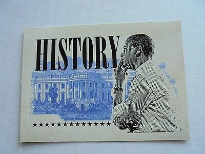 2008 Topps Barack Obama Inauguration Sticker #14 NM/M Condition Trading Card