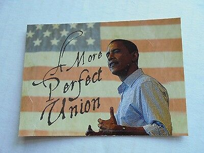 2008 Topps Barack Obama Inauguration Sticker #8 NM/M Condition Trading Card