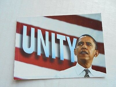 2008 Topps Barack Obama Inauguration Sticker #12 NM/M Condition Trading Card