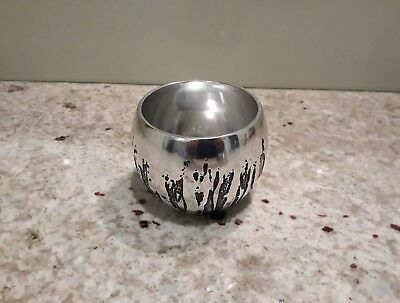 DON SHEIL Metal NECTAR CUP Signed