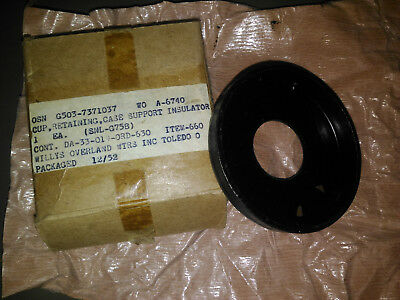 Jeep mb gpw Cup, Retaining, Case Support Insulater - NOS