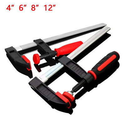 F  / Sliding G Clamps HCS Heavy Duty With Soft Grip Handle WoodWorking Carpenter