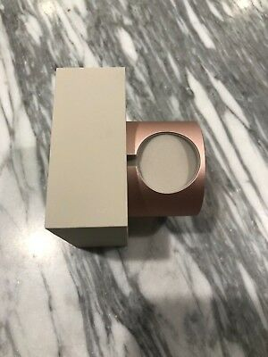 Native Union Charging Dock for Apple Watch, Marble Edition - rose gold