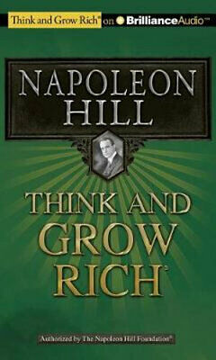 NEW Think and Grow Rich By Napoleon Hill Audio CD Free Shipping