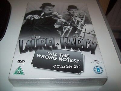 Laurel And Hardy: All The Wrong Notes! Collection [DVD BOXSET]