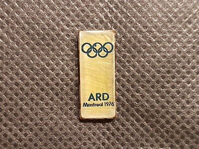 ### ARD Pin Olympic Games Montreal 1976 - Sehr Selten! ###