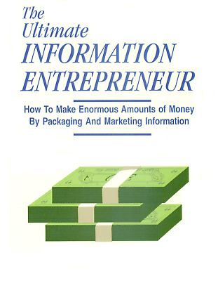 Dan Kennedy ULTIMATE INFORMATION ENTREPRENEUR +  Free Priority Mail Shipping