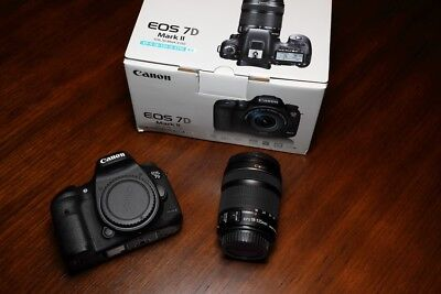 Canon EOS 7D Mark II Digital SLR Camera with EF-S 18-135mm IS STM Lens