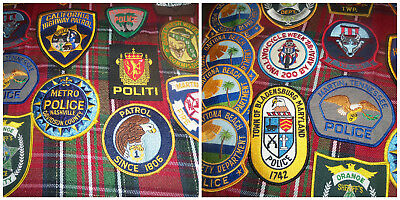 Vintage Police Patches & Mixed 22 Total Estate Find