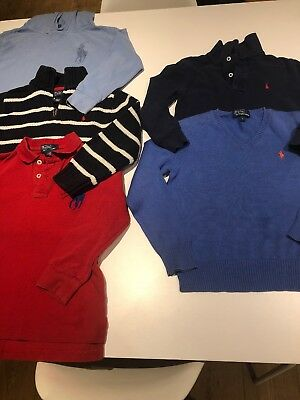 Ralph Lauren Boys Bundle Age 5 6 Tops Jumper