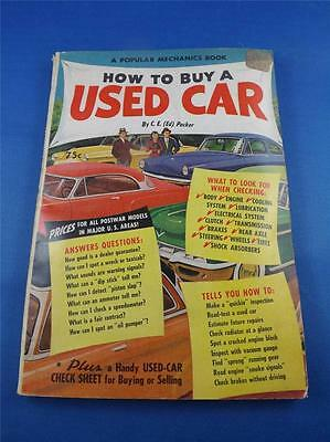 Popular Mechanics Book How To Buy A Used Car By Ed Packer 1954 Cadillac Buick