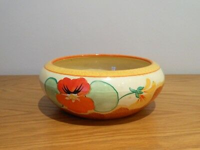Clarice Cliff - Nasturtium Bowl - Beautiful.