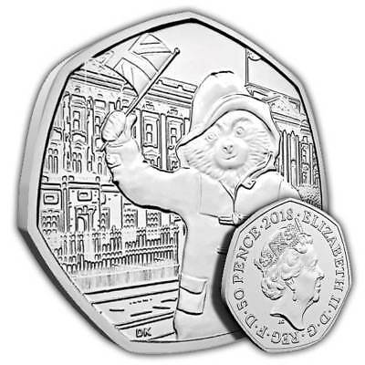 50p Coin - Paddington Bear - Fifty Pence - 2018 New Uncirculated - Free Postage