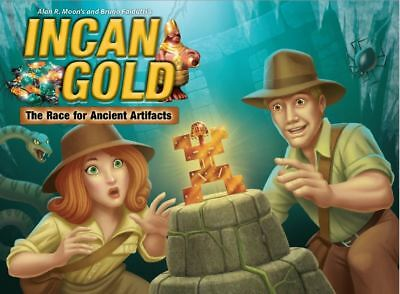 Incan Gold 3rd Edition - Family Board Game
