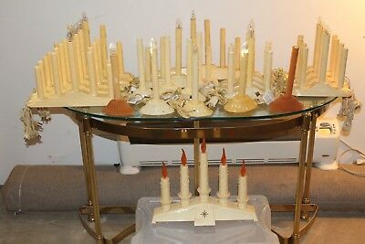 Large Lot Vintage Electric candles - Candoliers
