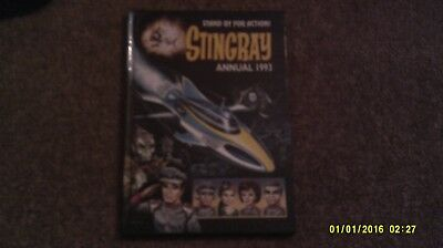 STINGRAY ANNUAL 1993. STAND BY FOR ACTION HB GERRY ANDERSON Tv Retro Toy