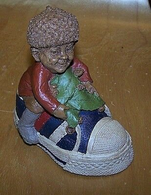 "Tom Clark Gnome ""GERBER"" IN SNEAKER Collectible Original Signature figurine"