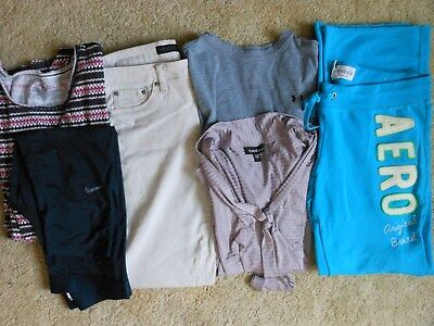 Under Armour-Bebe-Vs-Aero 6 Pc Lot Size L-Xl & 12