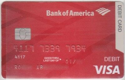 c. EXPIRED US BANKCARD BANK OF AMERICA