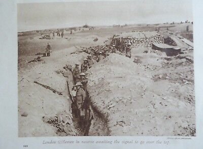 WW1. Prints 102 original pages from The Great War Mags. circa 1916. 367 pictures