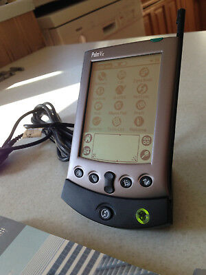 Palm Vx PDA, Stylus, Leather Case, Instruction Manuals,Charger And Serial Port