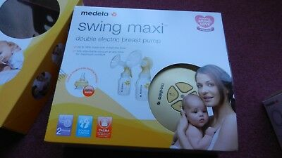 Medela Swing Maxi Double Electric Breast Pump with Calma