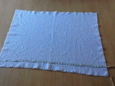 Hand Crocheted Baby Shawl And Bootees