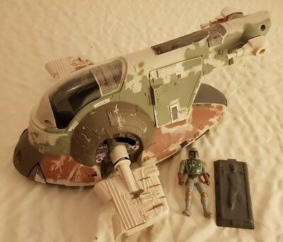 Star Wars Hasbro Slave One 1 1996