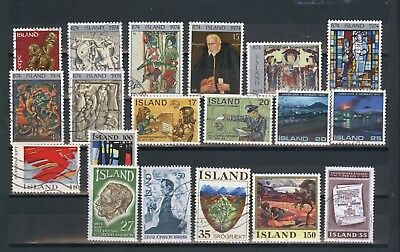 Island Lot ex Mi 489 - 516 o used   - A525