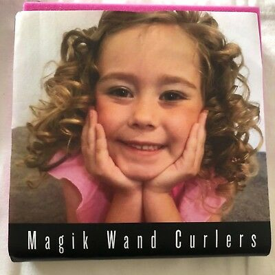 32 Magik Wand Hair Curlers.  Curl Your Hair With No Damage.  Perfect For Kids!