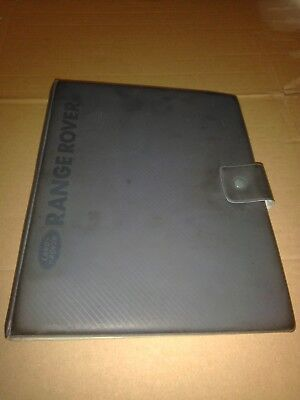 Range Rover Classic owners manual 1990 document wallet
