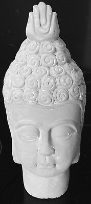 Latex Mould for making Lovely BUDDHA HEAD