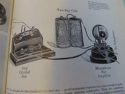 Crystal Sets Bbc Gpo Ediswan Brownie Browns Elwell Goldtone Well Ilustrated Book