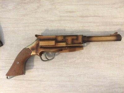 Malcolm Reynolds Metal Plated Pistol Official Replica FIREFLY SERENITY QMX +