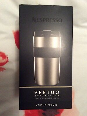 Nespresso Vertuo Travel Mug with Double walled Stainless Steel Holds 400ml