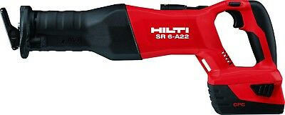 HILTI Cordless SR 6-A22 reciprocating saw BRAND NEW (TOOL).